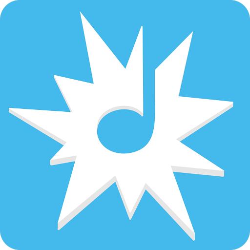 The logo of the rhythm app beat the rhythm